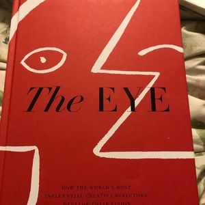 Book the eye new brand new